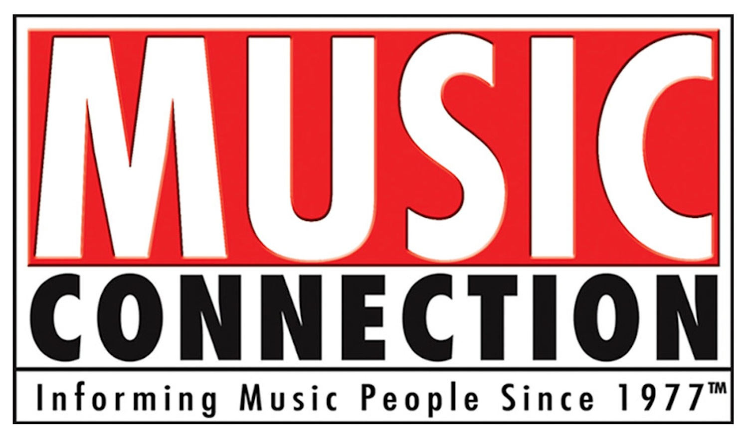music connection logo 5 inch